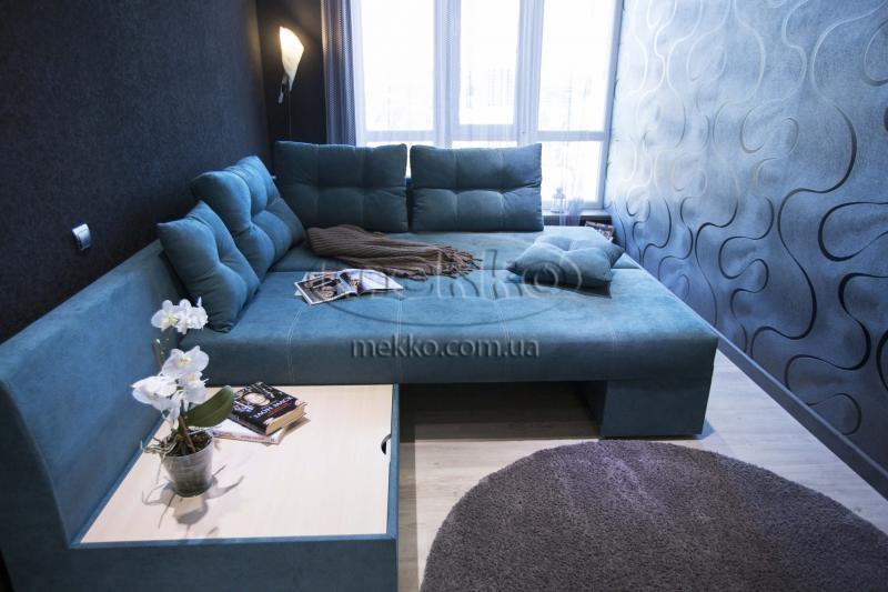 Кутовий диван з поворотним механізмом (Mercury) Меркурій ф-ка Мекко (Ортопедичний) - 3000*2150мм  Гірське-4