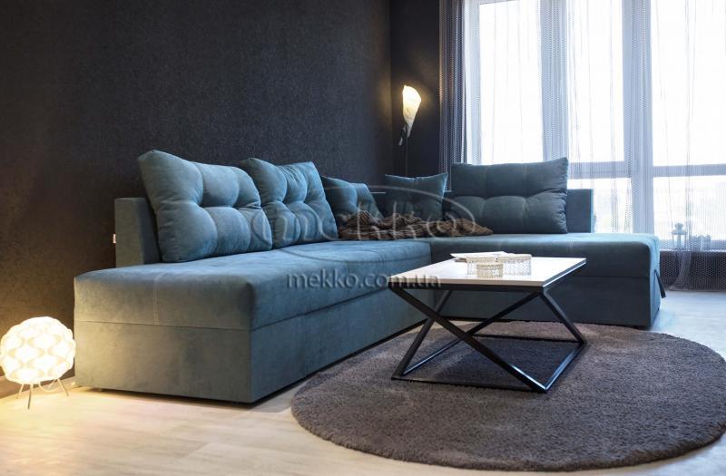 Кутовий диван з поворотним механізмом (Mercury) Меркурій ф-ка Мекко (Ортопедичний) - 3000*2150мм  Гірське