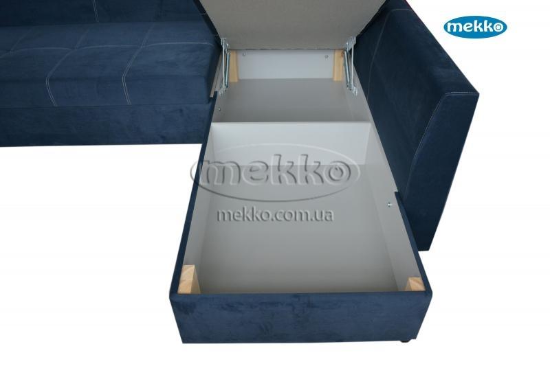 Кутовий диван з поворотним механізмом (Mercury) Меркурій ф-ка Мекко (Ортопедичний) - 3000*2150мм  Гірське-20