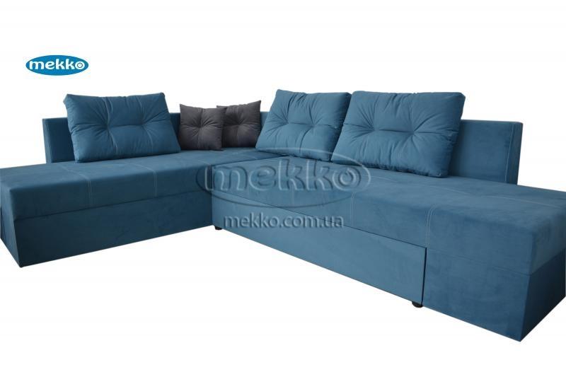 Кутовий диван з поворотним механізмом (Mercury) Меркурій ф-ка Мекко (Ортопедичний) - 3000*2150мм  Гірське-11